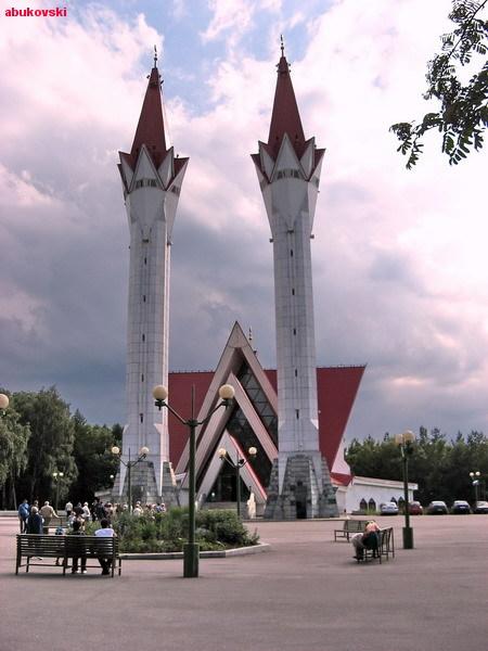 Уфа. Соборная мечеть Ляля-Тюльпан