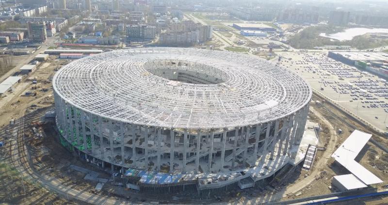 На 30% выросло количество желающих сделать перепланировку в квартире вблизи строящегося к чемпионату мира по футболу стадиона в Нижнем Новгороде