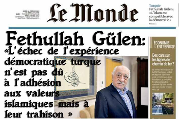 Fethullah Gülen Le Monde