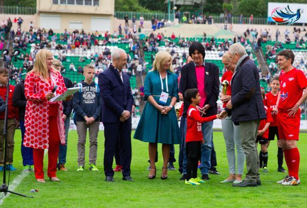 Фонд «Под флагом добра» проводит в Москве очередной детский турнир по футболу «Кубок Добра»